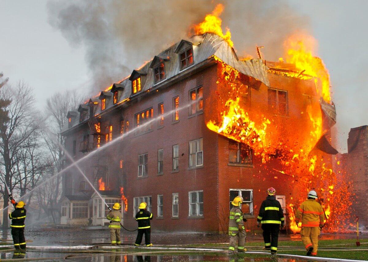 O que fazer em um incêndio?